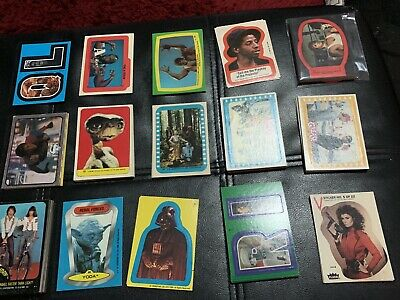Topps Trading Card Stickers Lot 70,s. And 80,s X 149 Stickers