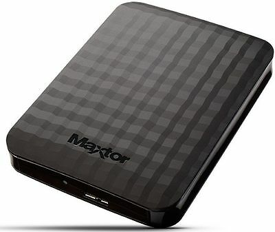 "Hard Disk Esterno 2Tb 2,5"" Usb 3.0 Super Speed Autoalimentato Maxtor Hd 2000Gb"