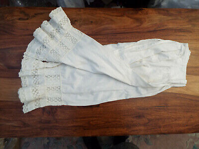 Antique Lacey Cotton Bloomers/Drawers