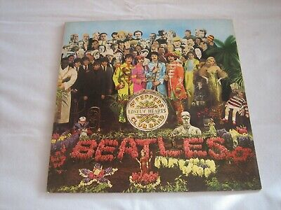 The Beatles ‎ Sgt. Pepper's Lonely Hearts Club Band  Parlophone ‎ PCS 7027 Gatef