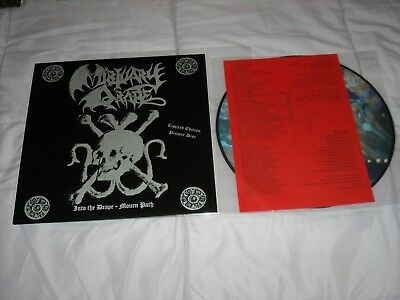 MORTUARY DRAPE Into the Drape Mourn Path ULTRA ltd. 205 copies only PICTURE 2xLP