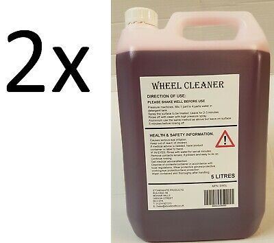 2x Iron Contamination Remover Decontamination Alloy Wheel/Paint/Cleaner Fallout