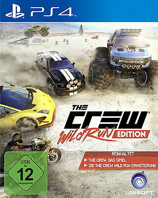 The Crew - Wild Run Edition (Sony PlayStation 4, 2015)