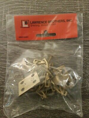 NOS, Vintage Lawrence  Transom Window Chain, Satin Brass D249S, Made in USA