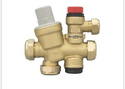Caleffi Cold Water Inlet Control Group 22 X 22Mm