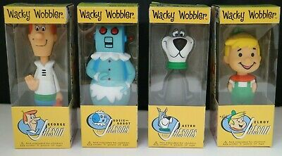 Funko Wacky Wobbler The Jetsons George Elroy Rosie Astro Set Of 4 Bobble Heaads
