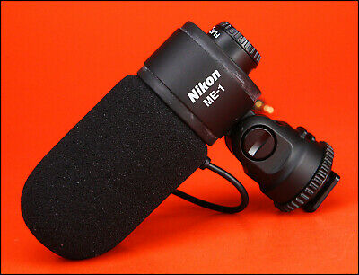 Nikon ME1 DSLR Camera Professional Stereo Microphone