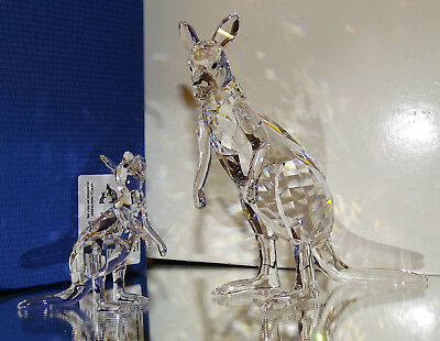 Swarovski  NEW for 2019  KANGAROO MOTHER WITH BABY 5428563  MINT IN BOX