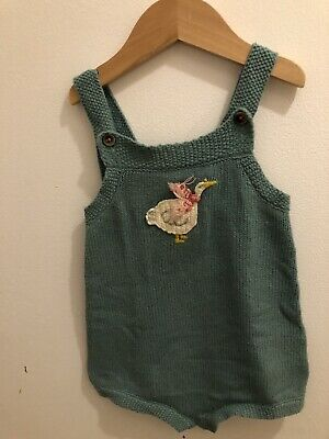 Mini boden Knitted Romper/playsuit 18-24 Mths