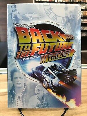 Back to the Future Trilogy (DVD, 2015, 5-Disc Set)