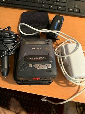 Sony MD Walkman MZ R2 1993  With Case