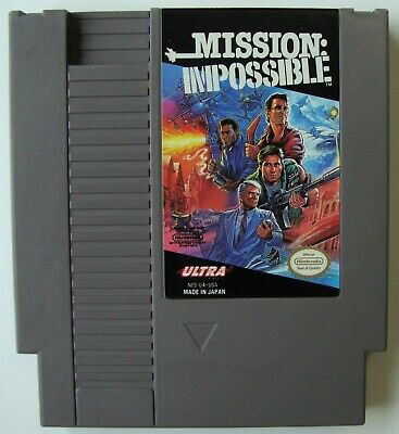 Mission Impossible Nes  Nintendo Video Game Tested And Working