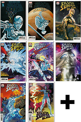 SILVER SURFER: BLACK #1,2,3,4,5 Variant, Incentive, Exclusive+ ~ Marvel Comics