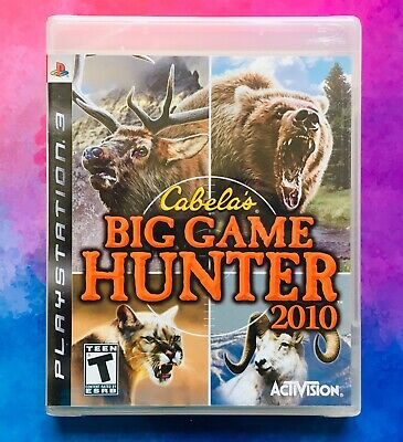 Cabela's Big Game Hunter 2010 (Sony PlayStation 3 PS3, 2009) *BRAND NEW* Sealed