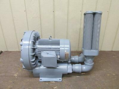 Fuji VFC804A-7W Ring Compressor Regenerative Blower 10 HP 388 CFM 230/460v