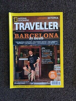 NATIONAL GEOGRAPHIC TRAVELLER MAGAZINE Sep 2018 - Barcelona - New and Unread