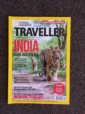 NATIONAL GEOGRAPHIC TRAVELLER MAGAZINE Oct 2018 - India - New and Unread