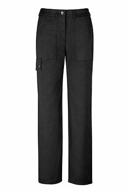 Greiff Ladies Chef Trousers Model 5310 Black Sz. 40 New