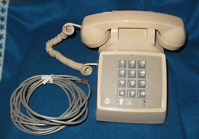 Vintage Bell/Western Electric 2500MM Push Button/Touch Tone Desk Telephone Phone