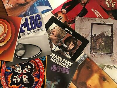Choose 3 Records for $24.99: Zeppelin, Beatles, Grateful Dead, Pink Floyd, Kiss