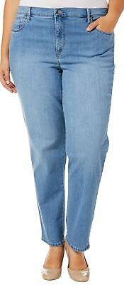 Gloria Vanderbilt Plus Amanda Classic Stretch Jeans 16W Short