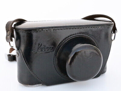 Leica leather case for Leica II and III series screw mount rangefinder camera