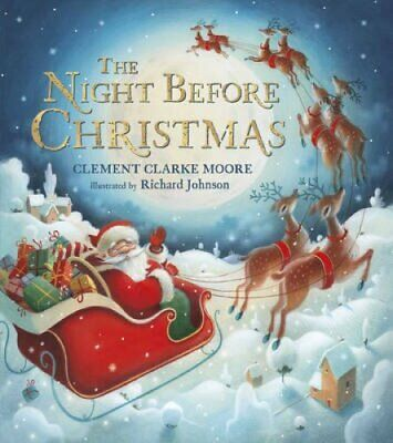 The Night Before Christmas by Clement C. Moore 9780552569880 | Brand New