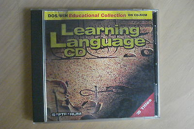 + Learning Language [Pc Cd-Rom] Aussie Seller