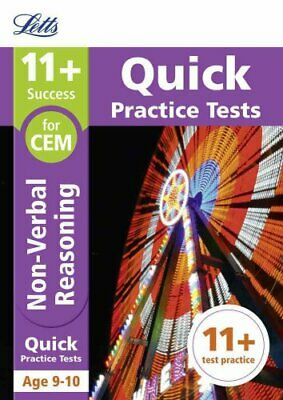 11+ Non-Verbal Reasoning Quick Practice Tests Age 9-10 for the ... 9781844198924