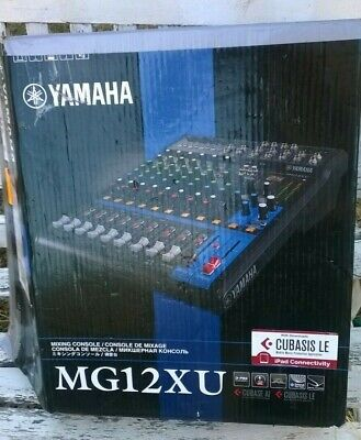 Yamaha MG12XU Mixing Console with multi effects, XLR outs and USB