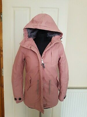 Girls Pink Winter Coat Next Age 12