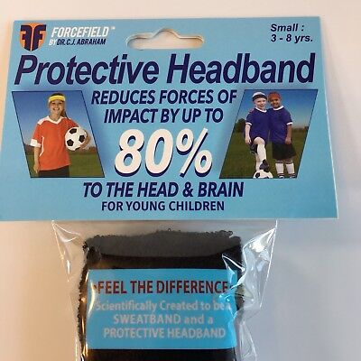 Forcefield PROTECTIVE Headbands IMPACT Reduction TWO PACK = 1 Small & 1 Medium