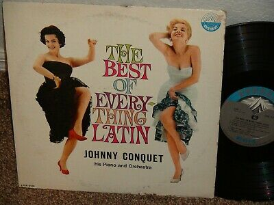 Johnny Conquet The Best Of Everything Latin Album Vg++ To Near Mint Record !