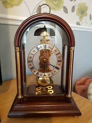 Vintage Hermle Mantel/carriage Clock made in germany