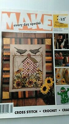 Miracle of Every Single Day Counted Cross Stitch Magazine Pattern SY13