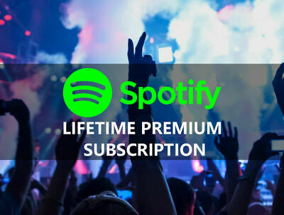 Spotify Premium - LIFETIME - Exiting Spotify Upgrade or New Spotify Account ✅