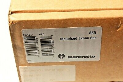 Manfrotto 850 Expansion set / Motorised Background Motor Set. 4 available. NOS