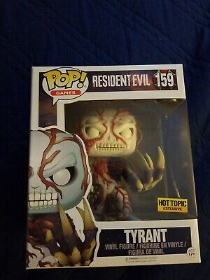 Funko pop resident evil tyrant Hot Topic Exclusive