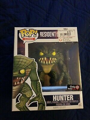 Funko Pop Resident Evil Hunter Gamestop Exclusive