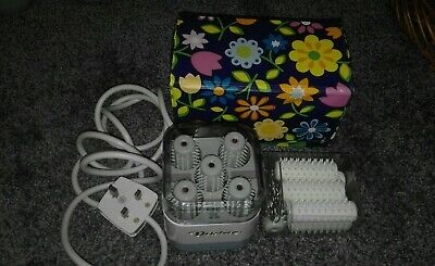 Vintage Dateline Heated Hair Rollers x12