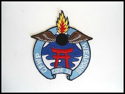 RARE Vietnam RVN Era USN or USAF Military Patch CFWP WEAPONS CODE 33