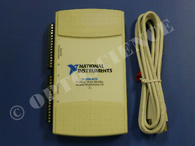 National Instruments USB-6215 Data Acquisition Card, NI DAQ, Multifunction