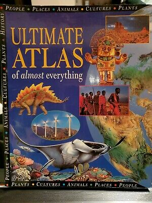 Ultimate Atlas of Almost Everything Scholastic 1998 Paperback Very Good Conditio