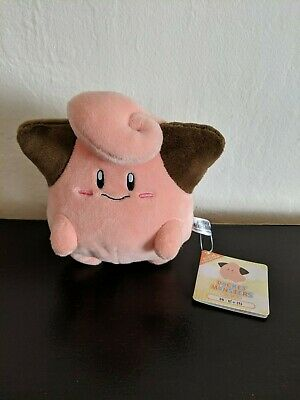 """REAL  Sanei Pokemon  All Star Collection Cleffa 6/"""" Plush Doll PP26"""