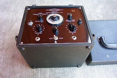 VINTAGE  1940's OR 50's MEDCO TRONIC #50 ELECTRIC MUSCLE STIMULATOR--GREAT SHAPE