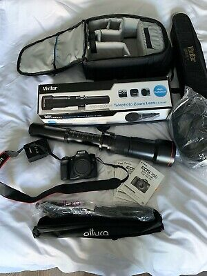 Canon EOS 70D 20.2MP Digital SLR Camera - Black (Body Only) - w/ TONS OF EXTRAS