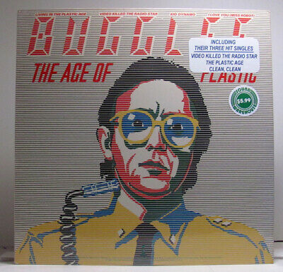 Buggles The Age Of Plastic SEALED 1st Press 1980 USA LP w/ HYPE! Yes Trevor Horn