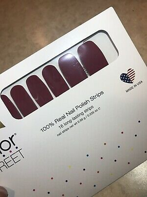 COLOR STREET Nail Strips New Fall Collection Aberdeen Aubergine