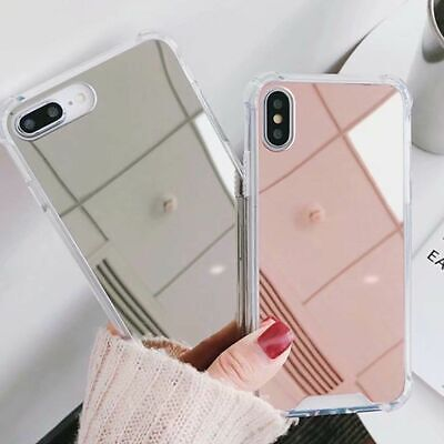 iPhone 11 Pro Max Xs Xr 8 7 Plus Luxury Mirror Case Slim Hybrid Protective Cover
