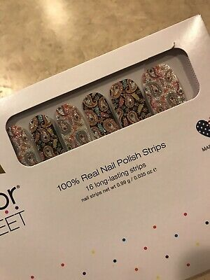COLOR STREET Nail Strips New Fall Collection Oops A Paisley